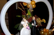 Bride and Groom arch
